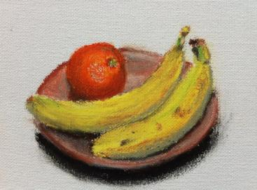 Still life with Bananas